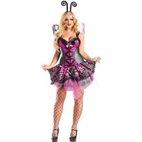 Adult Butterfly Body Shaper Costume Plus Size
