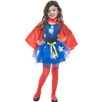 Girls Tutu Super Girl Costume
