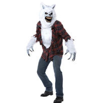 Adult White Werewolf Costume