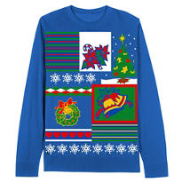 Holiday Icons Christmas Sweater