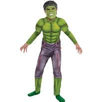 Boys Hulk Muscle Costume - Avengers: Age of Ultron