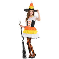 Girls Trick or Treat Witch Costume