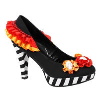 Multicolor Platform High Heel Shoes - Day of the Dead