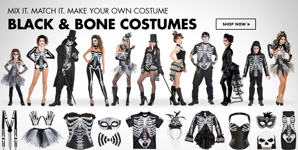 Black & Bone Costumes & Accessories