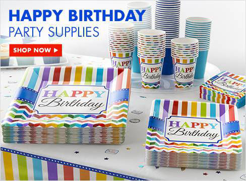 Quad Birthday Party Supplies Images