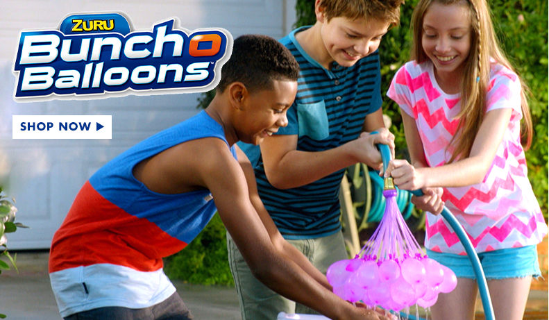Water Balloons, Bombs, Pumps & Launchers