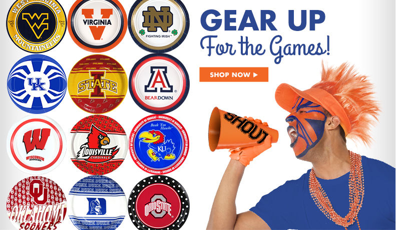 College Basketball Party Supplies