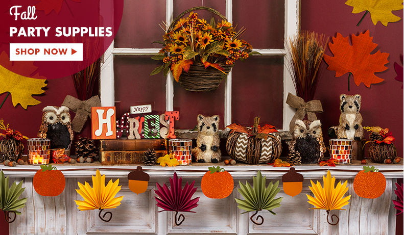 Fall Party Supplies