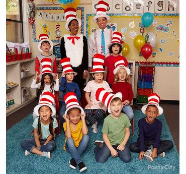 Dr. Seuss Class Picture Idea