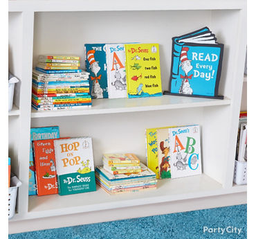 Dr. Seuss Mini Library Idea