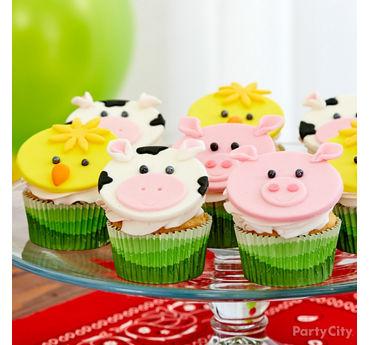Farm Fun Cupcakes Idea