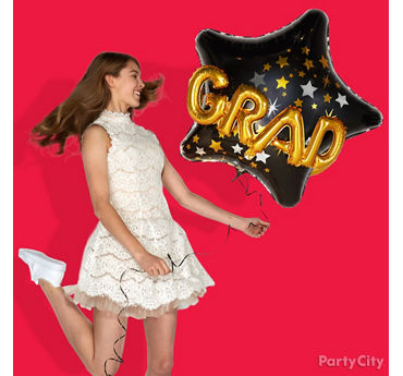 Graduation Balloon Photo Prop Idea