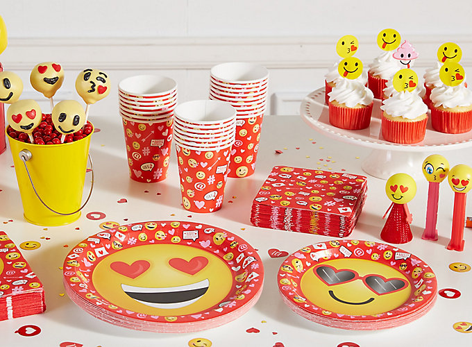 Smiley Valentines Day Party for Kids
