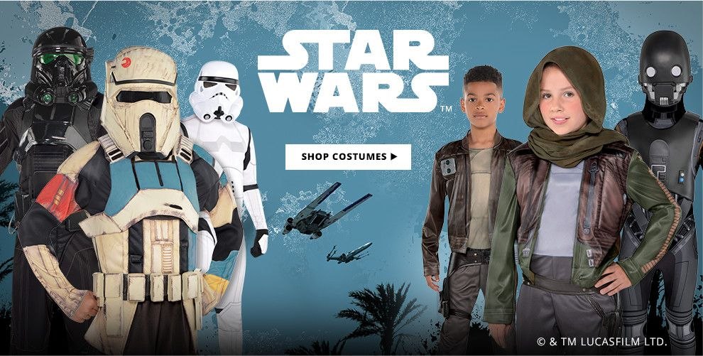 Shop Star Wars Costumes Now