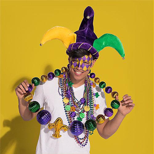 Mardi Gras Unique Beaded Necklaces Idea