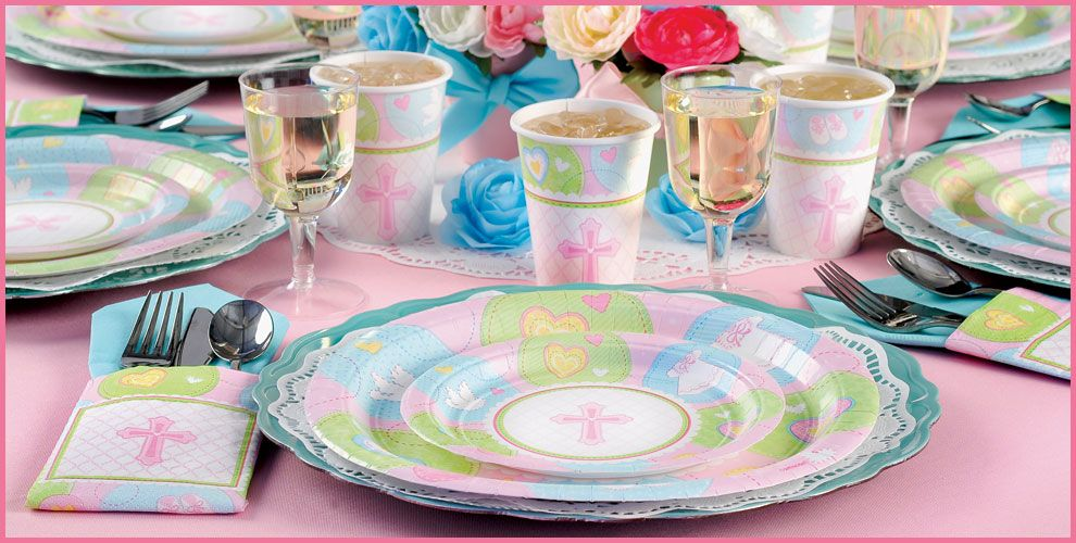 Pink Sweet Religious Party Supplies | Party City