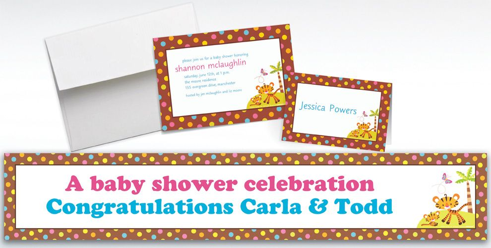 Custom Fisher Price Baby Shower Invitations & Thank You Notes ...