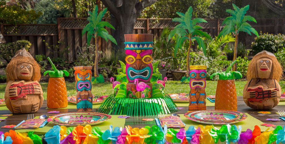 Best 25 Caribbean Party Ideas On Pinterest: Summer Table Decorations - Summer Centerpieces