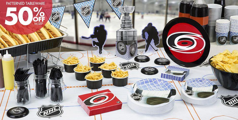 NHL Carolina Hurricanes Party Supplies