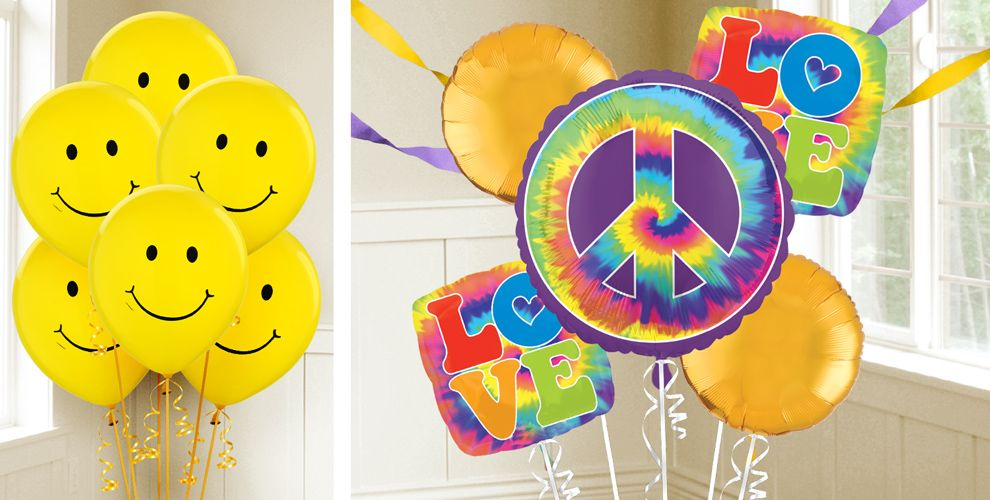 60s Party Balloons