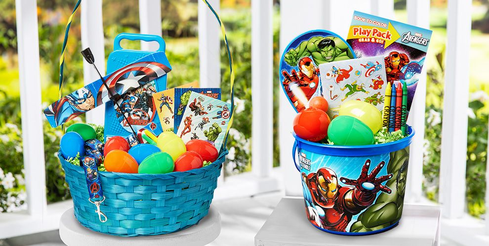 Build Your Own Avengers Easter Basket