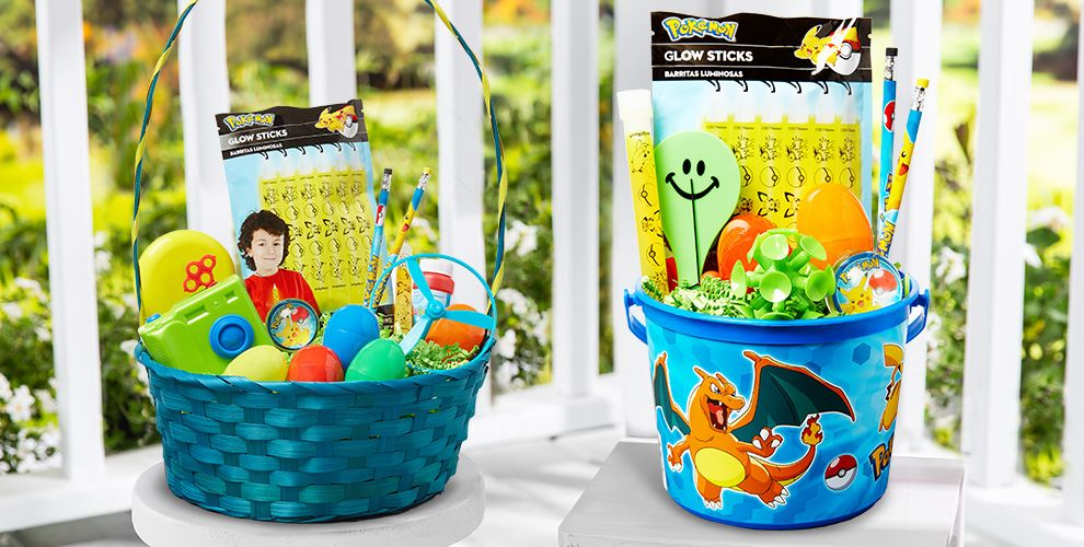 Build Your Own Pokemon Easter Basket