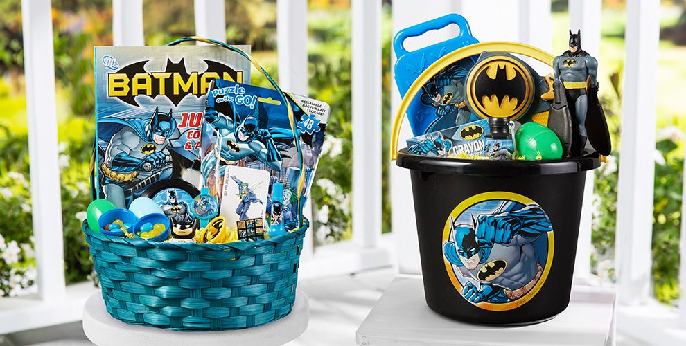 Build Your Own Batman Easter Basket