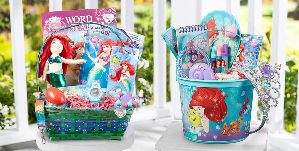 Build Your Own Little Mermaid Easter Basket