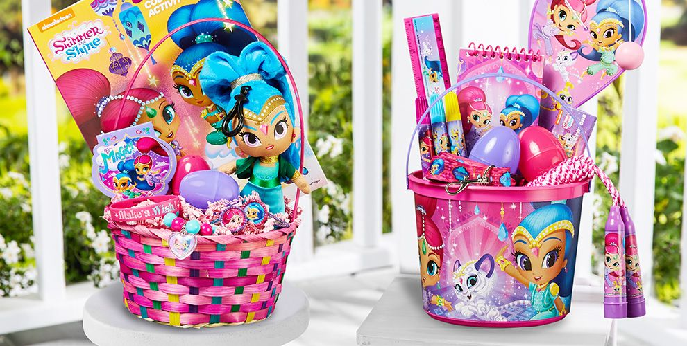 Build Your Own Shimmer and Shine Easter Basket