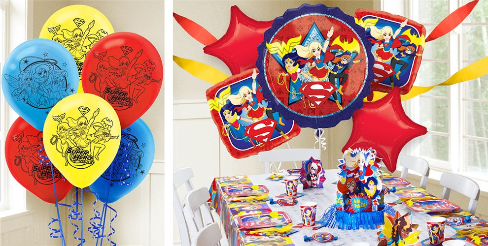 DC Super Hero Girls Balloons