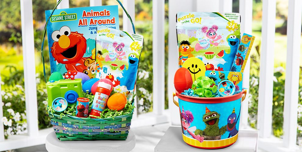 Build Your Own Sesame Street Easter Basket