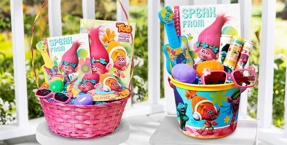 Build Your Own Trolls Easter Basket
