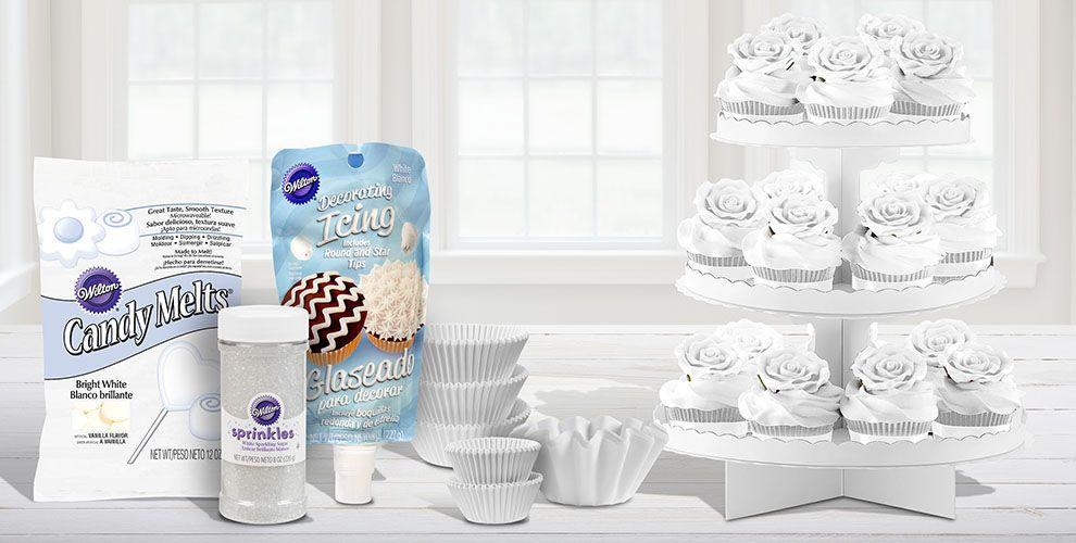 White Baking Supplies