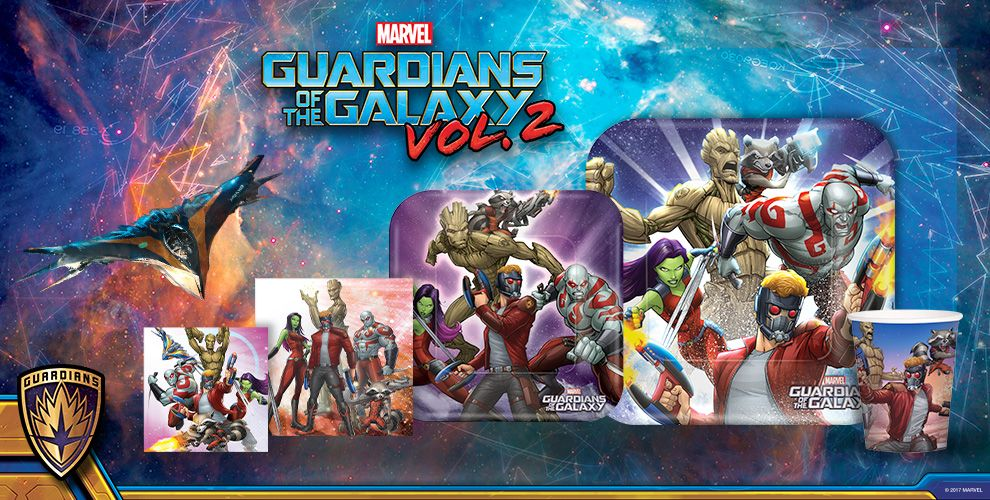Guardians of the Galaxy Party Supplies