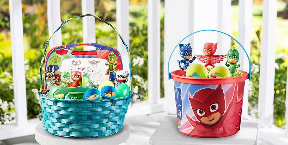 Build your own pj masks easter basket party city build your own pj mask easter basket negle Image collections