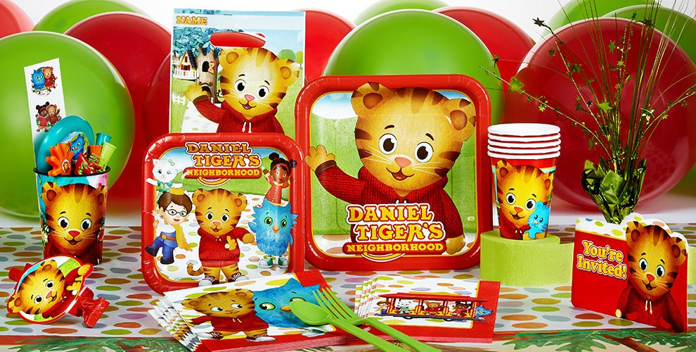Daniel Tiger's Neighborhood Party Supplies