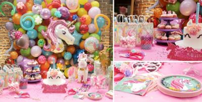 Unicorn Party Supplies ... & Magical Unicorn Party Supplies - Unicorn Birthday Party | Party City