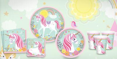 Unicorn Party Supplies; Unicorn Party Supplies  sc 1 st  Party City & Magical Unicorn Party Supplies - Unicorn Birthday Party | Party City