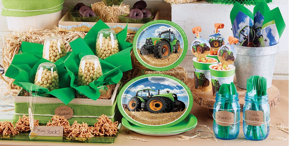 Tractor Party Supplies