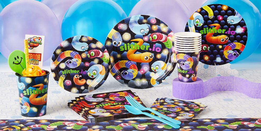 Slither.io Party Supplies