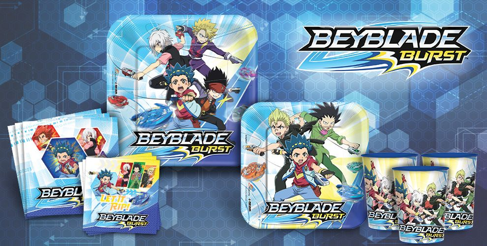 Beyblade Party Supplies Beyblade Birthday Party Party City