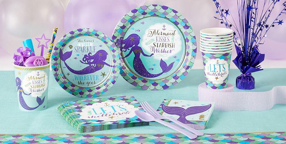 Wishful Mermaid Party Supplies