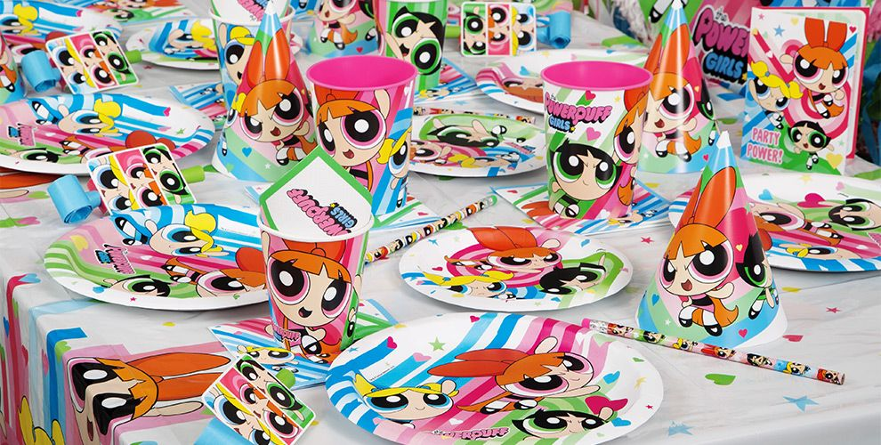 The Powerpuff Girls Party Supplies