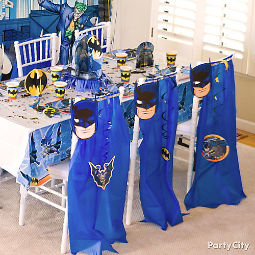 Batman Chair Deco DIY