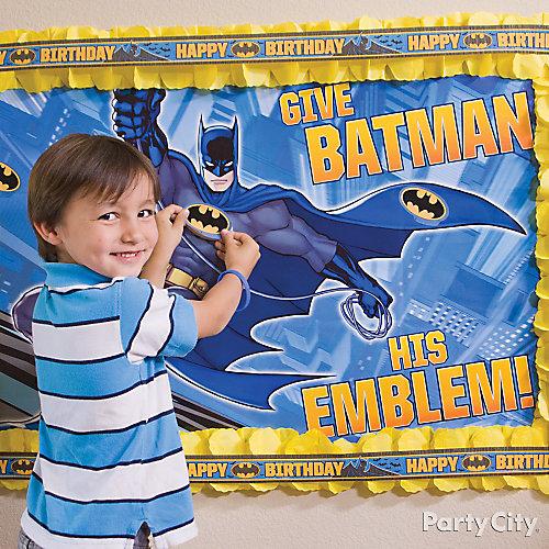 Batman Pin It Game Idea