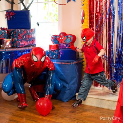 Spider Man Photo Op Idea Game Activity Ideas Spider Man Party