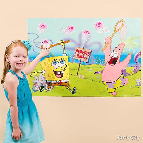 SpongeBob Pin It Game Idea