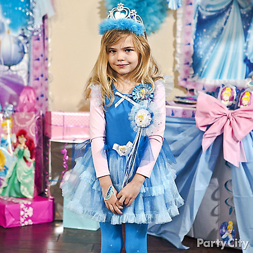 Cinderella Birthday Outfit Idea