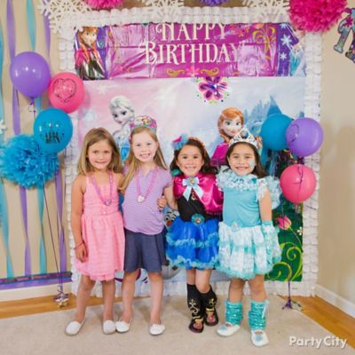 Frozen Scene Setter Idea Party City Party City