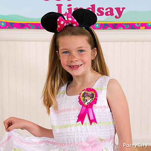 Minnie Mouse Birthday Outfit Idea